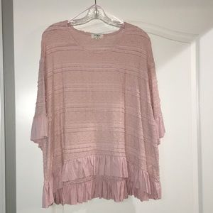 Umgee top size M in blush pink New